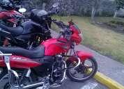 Vendo moto motor uno fx 200, año 2011, unico dueño, papeles en regla, color roja