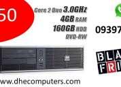 Computadoras hp en buen estado a precio de black friday