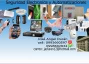 Alarmas, cámaras, y todo relacionado con la seguridad electrónica y automatizaciones