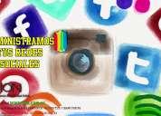 Mantenimiento y administración de redes sociales