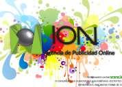 Ion es tu agencia de publicidad en línea diseño, impresión, rotulación, marketing, etc.