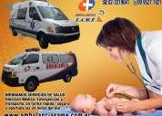 Servicio de ambulancia same transporte medico