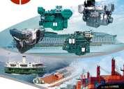 Vendo motores marinos, cajas y partes de lanchas y embarcaciones