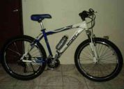 bicicleta montaÑera aluminio reforzado!!