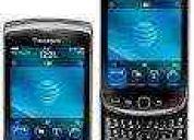 Celular tv mobil blackb9800,táctil,2chip,tv,wifi + regalo gafas oakley