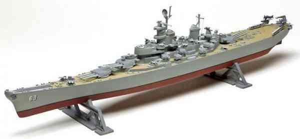 Barco de guerra acorazado us missouri revell 1 535 quito - Antiguedades de barcos ...