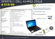 Oferta laptop dell a14p62-250lb solo por 519.99 usd