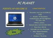 Portatil hp 430 core i3