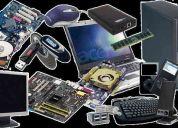 Venta de partes y sunimistros para computadores