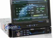 Radio dvd boss bv9999bi pantalla 7 retractil touch  $460