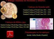 Catalogo mundial de monedas y billetes (solo cuenca)