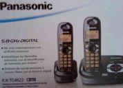 Telefono de oficina panasonic con auricular extra