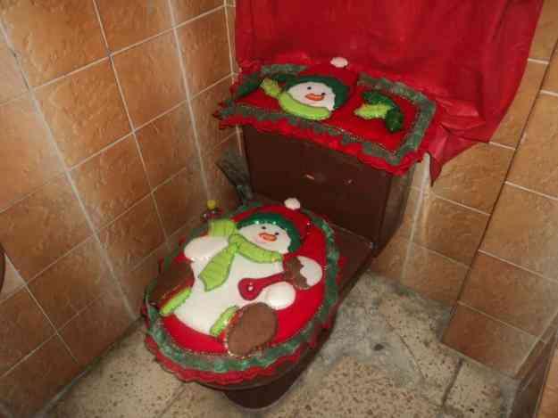 Juego De Baño En Quito:Adorno De Navidad Para Bano