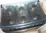 Cocina 6 quemadores negociable