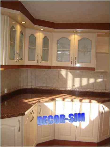 Muebles de cocina lindisimos decor sim quito for Modelo de anaqueles para cocina