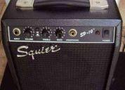 Vendo amplificador de guitarra marca squier sp.10 de fender