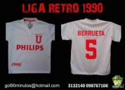 Camiseta retro liga de quito 1990 ldu ecuador exclusivas philips berrueta venta