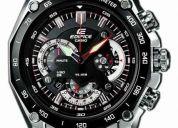 Reloj casio edifice ef-550 deluxe formula 1 sebastian vettel (contacto: 081471175)