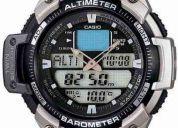 Reloj casio sgw-400hd acero altimetro barometro termometro (contacto: 081471175)