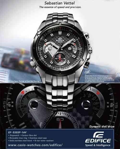 6c897a1cdef5 Reloj casio edifice ef-535 fibra de carbono cronografo lujo  (contacto 081471175)