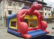 Vendo inflable - salta salta grande