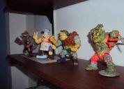 Vendo 4 muñecos de las tortugas ninja