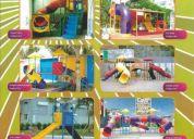 Play garden, toboganes , juegos infantiles