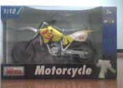 Moto modelo motocross coleccion