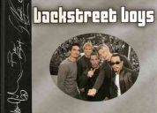 Vendo libro oficial de backstreet boys