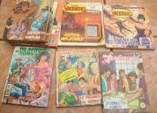 Comics, historias policiacas, vaqueros, etc