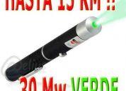 puntero laser verde. alcance hasta 15 km