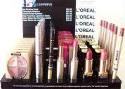 Loreal cosmeticos para ventas en bazares y boutique enviamos a todo ecuador
