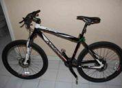 bicicleta de montaña - 18.5 marca norco (tiene 1 mes de uso)