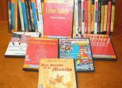 Vendo libros y solucionarios baratos de todo tipo