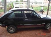 Vendo auto chevette del 82 color negro