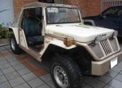 Vendo o cambio jepp willys 4x2 roll bar flamante