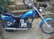 De oportunidad, vendo o cambio linda moto jialing estilo mini choper
