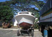 bote 26 pies alta mar usa camarote