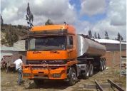 Se vende flamante trailer mercedes benz actros 3348 s
