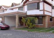 alquiler cumbaya 2 modernas casas conjunto privado