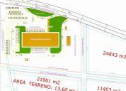 Vendo propiedad 24853 m2 para centro comercial, negocio, proyecto inmobiliario