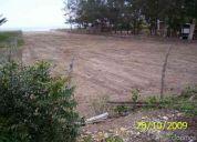 Vendo terreno frente al mar en puerto cayo