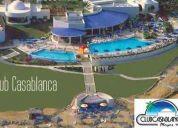 Vendo terreno en  general villamil playa.dentro del club casa blanca. frente al mar.1274m2