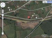 Terreno de 1000 m2. santa rosa de uyumbico, panamericana sur km. 3 frente al campo santo