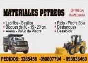 Materiales de construccion y maquinaria