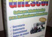 Sistema educativo rescol para instituciones fiscales y particulares