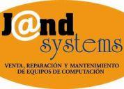 Mantenimiento, reparación y venta de equipos de computación