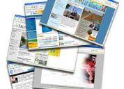 Creación de paginas web para locales comerciales a mitad de precio..