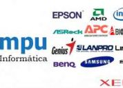 Reparacion, soporte, mantenimiento, venta de computadoras y laptops