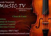 **////* academia de music tv ** canto * tecnicas